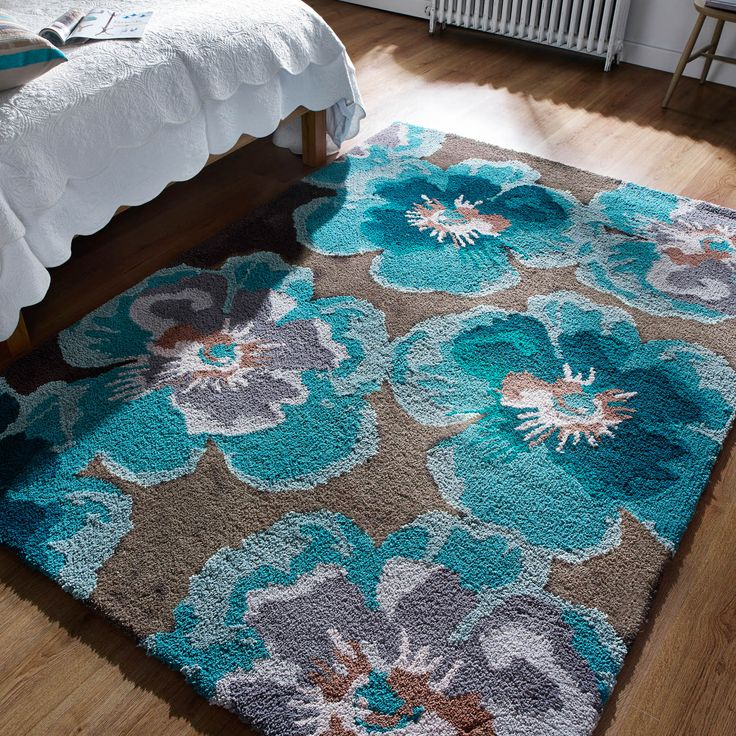17 Best Images About Teal And Grey Rugs On Pinterest: 17 Best Images About Floral Rugs On Pinterest