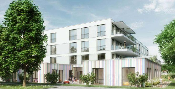 """Pflegezentrum """"PerlachStift"""" in München als Geldanlage im Vertrieb. Das Haus wird voraussichtlich 2018 fertiggestellt. Weitere Informationen finden Sie hier: http://www.ott-kapitalanlagen.de/pflege-immobilien/pflegeappartements-muenchen-neubau-pflegeheim.html"""