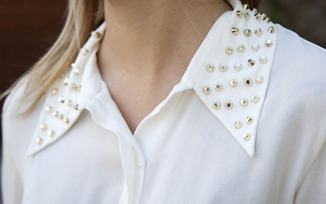Camisa gola spikes