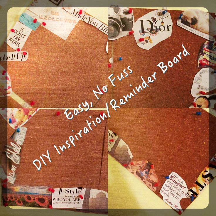Check out my new DIY Inspiration/Reminder Board. http://katiejoannas.blogspot.com/2015/06/easy-no-fuss-diy-inspirationreminder.html