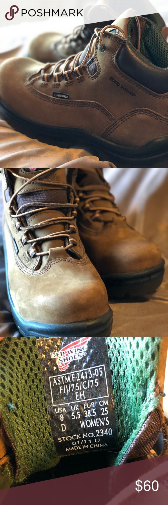 ❤️HP❤️Red Wing Boots-King Toe✨ As you can see the bottoms look like they've never been used. Some minor scuffs on leather but in GREAT shape! Like New Red Wing Shoes Shoes Winter & Rain Boots