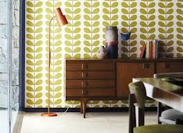 orla kiely - feature wall paper