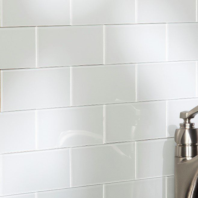 3 X 6 Gl L Stick Subway Tile Kit In Frost