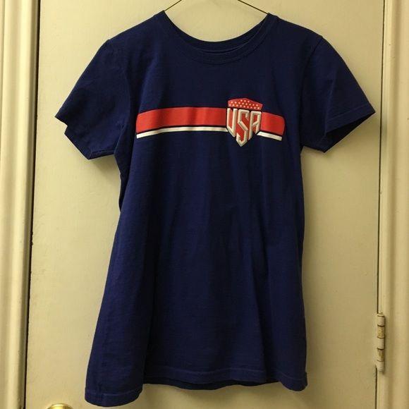 USA shirt A USA soccer shirt. Hardly worn. Tops Tees - Short Sleeve