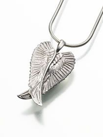 24 best cremation jewelry for ashes images on pinterest wings cremation pendant to hold ashes mozeypictures Images