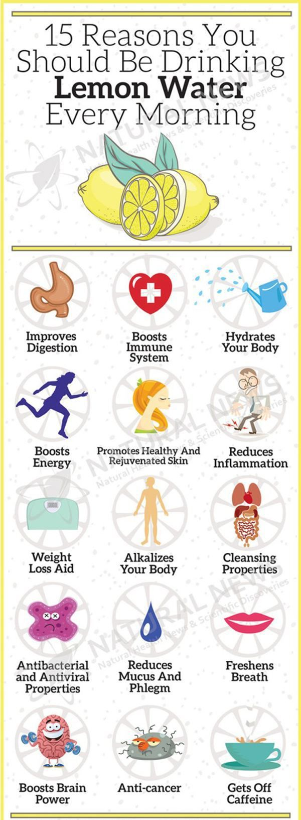 Reasons to drink lemon water in the morning. Freedom Massage, 610-644-9003 or freedommassage.com