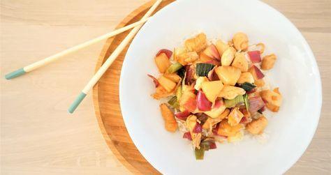 Kip & Ananas Teriyaki Wok recept - de Kokende Zussen