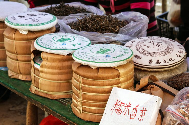 Grown in China's remote Yunnan Province, this legendary, fermented dark tea changes as it ages. Like a fine wine, pu'er is sipped, savored and collected by devotees.
