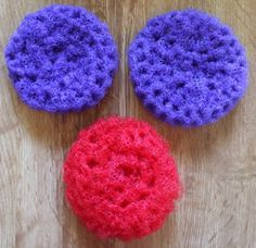 How to crochet a nylon net pot scrubber with pics and extra links