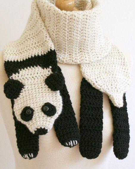 bufanda de oso panda - Buscar con Google:
