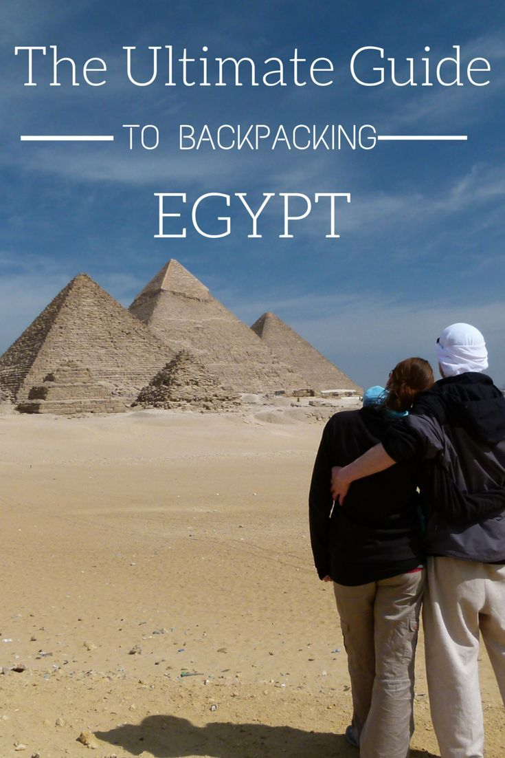 This is the Ultimate Guide to Backpacking Egypt. Everything you need to know about costs, accommodation, food, transportation, health, must-see's, visas, and more. This is the only guide you'll need for travelling to Egypt! http://www.goatsontheroad.com/budget-backpacking-guide-to-egypt/