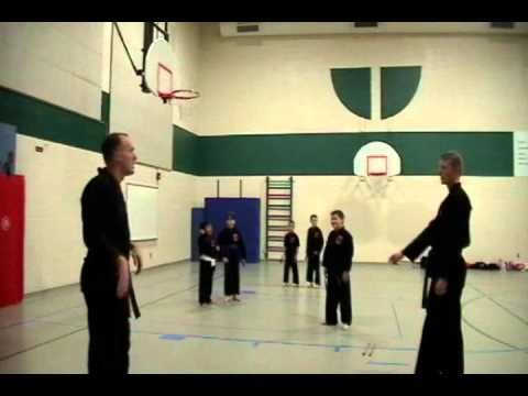 Body Clinch - Universal Kempo Karate Schools Association at Frontier Elementary - Colorado Springs
