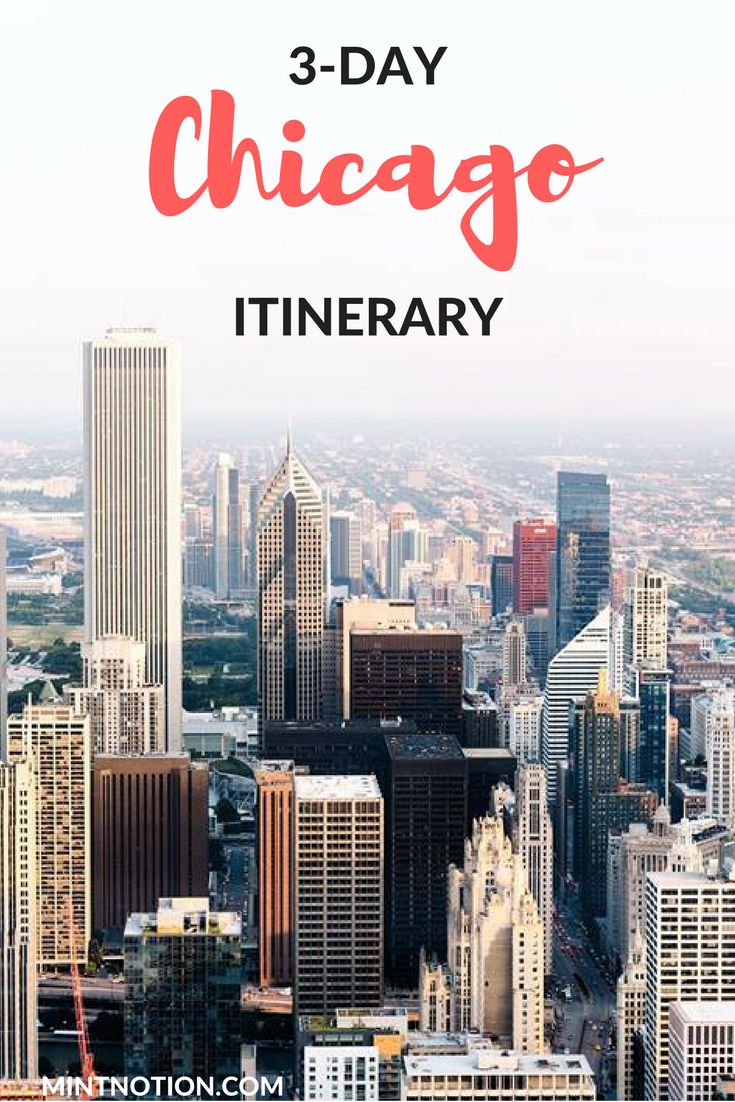 The perfect 3-day Chicago itinerary for first-time visitors. See the best of…