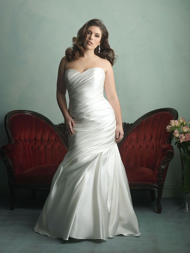 Wedding Gowns For Short Curvy Brides : Wedding dress styles prom dresses allure bridal