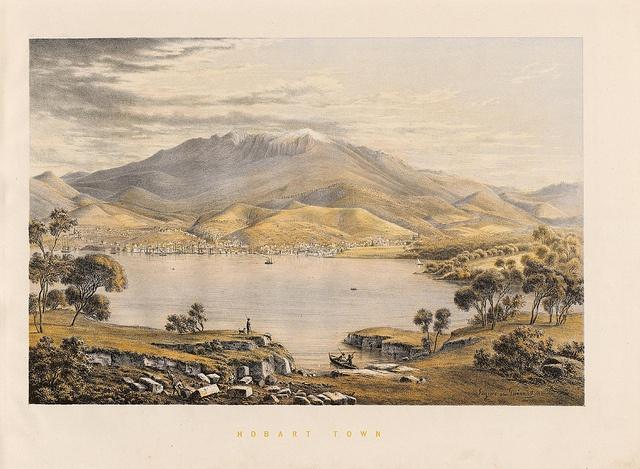 EV Guérard, Hobart Town, Tasmania