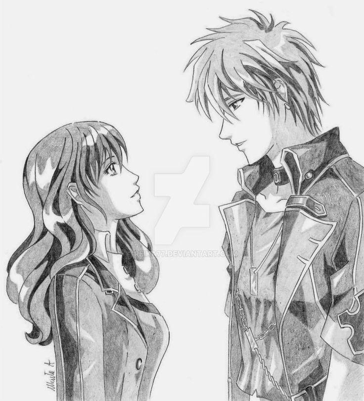 Scene 3# - Side by side by Reika77.deviantart.com on @DeviantArt #angelique #rayne #neoangelique #fanart #couple #anime