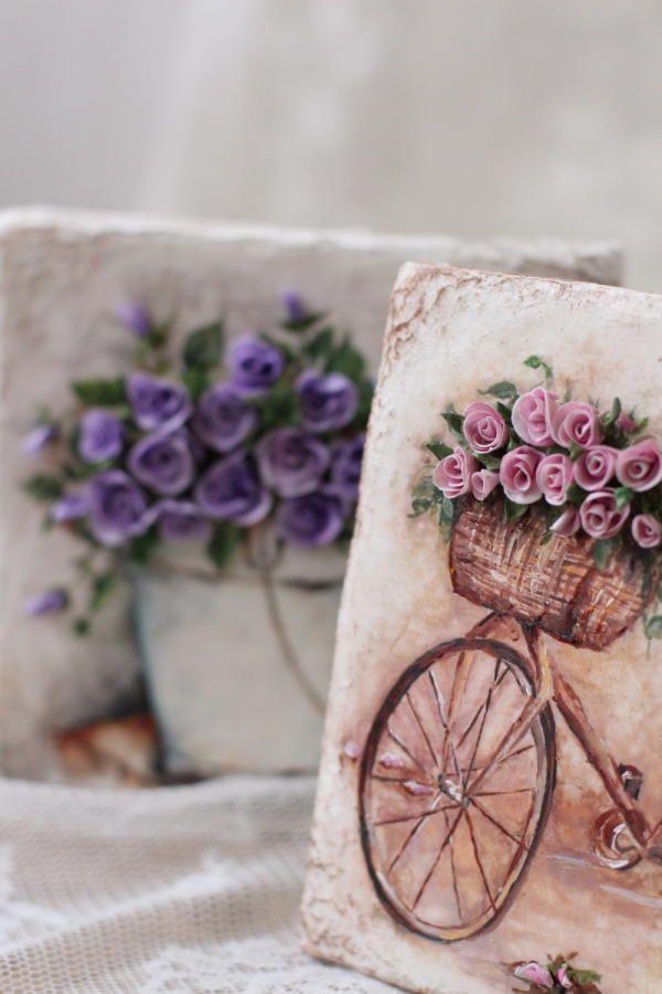 Сookies. Hand painted and sugar flowers. by Golumbevskaya Olesya