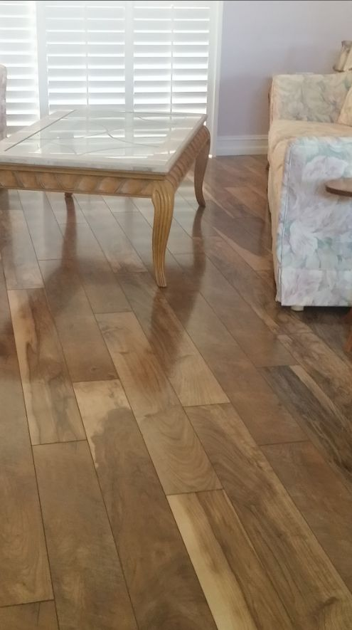 Mannington Laminate Flooring Installation Part - 20: Check Out This Beautiful Laminate Floor From Mannington (Restoration  Chateau Color Natural) We Just Installed For Bob U0026 Claire W In Lake Worth.  And We ...