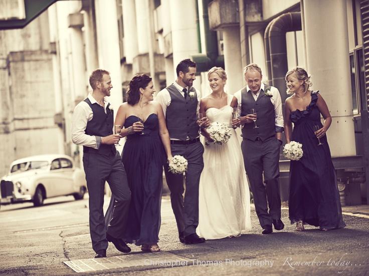 Brisbane Wedding Photographer - the bridal party, Christopher Thomas Photography