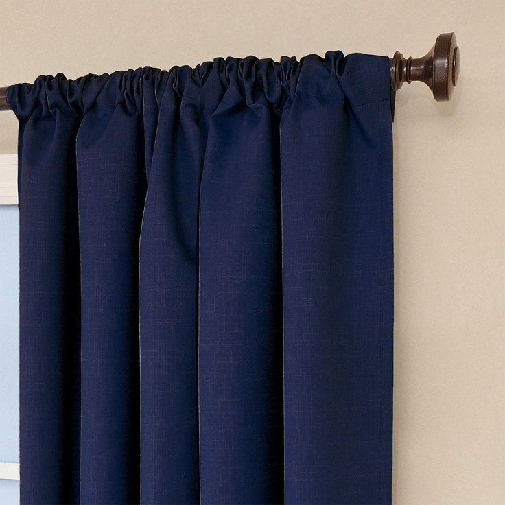 Add style and function to your décor with Eclipse™ My Scene Kendall Window Curtain. Eclipse curtains and accessories offer a unique blend of fashion and function for any home décor. The innovative, white foam-backing is applied to the fabric and allows you to enjoy all of the light-blocking, noise reducing and energy saving benefits, while providing the same fashionable style and elegance of naturally flowing curtains. Hang two or more valances on a standard or deco...