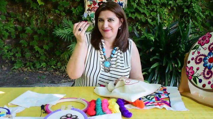 # 3 BORDATIPS: Que Materiales Necesito Para Bordado Mexicano Principiantes