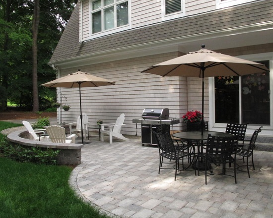 Concrete Paver Patio Design Ideas, Pictures, Remodel, And Decor   Page 10