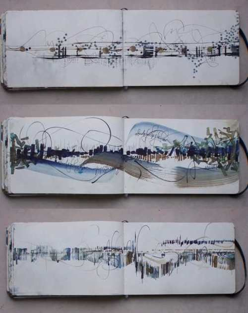 sketchbook . Elisabeth Couloigner