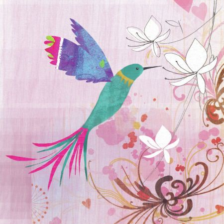 Veronica Vasylenko - Veronica Vasylenko Square Hummingbird
