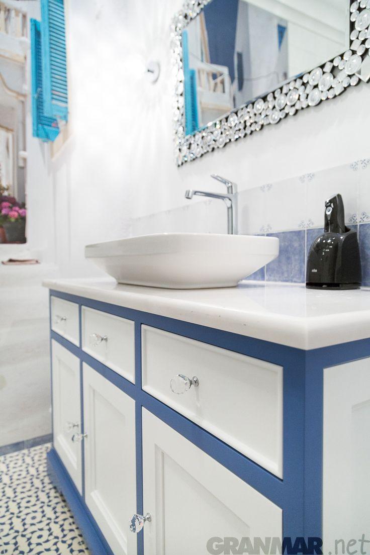 #Marmur #Bianco #Sivec blat łazienkowy tym razem