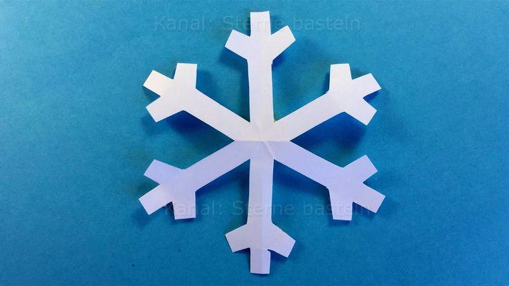 Sneeuwvlok maken - Sneeuwvlokken knippen - Knutselen - Kerstdecoratie