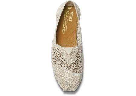 geez, I didn't know TOMS could get *this* cute!!Crochet Tom, Crochet Shoes, Crochet Women, Wedding Shoes, Tom Shoes, Nature Crochet, Crochet Woman, Women Classic, Discount Tom