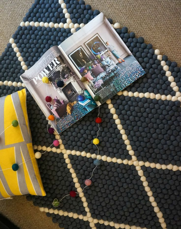 Over on the blog I'm reviewing these amazing handmade felt ball rugs from Sukhi. Click to read more.
