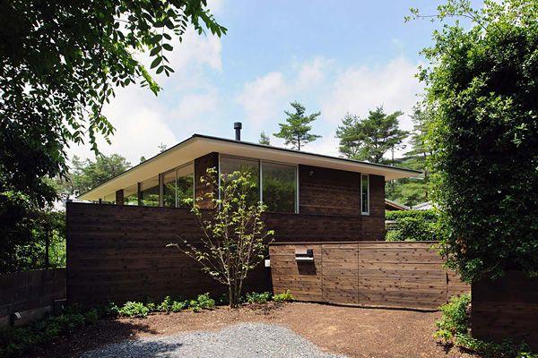 平屋建ての住まい | 森に暮らす家 | アーキッシュギャラリー