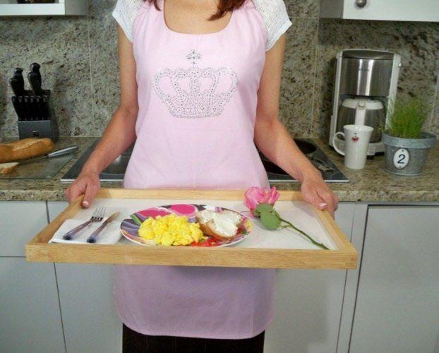 london pink apron