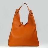 Hermes H034 Wonderful Leather Ladies Bag-Orange