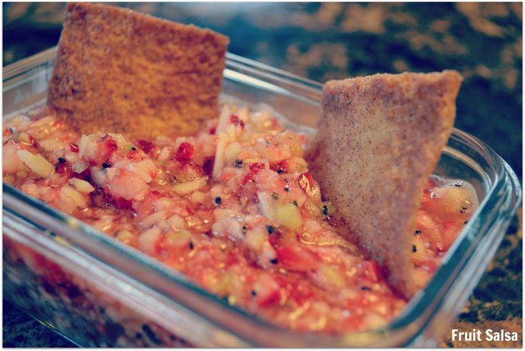 Fruit Salsa - easy side dish for BBQs!