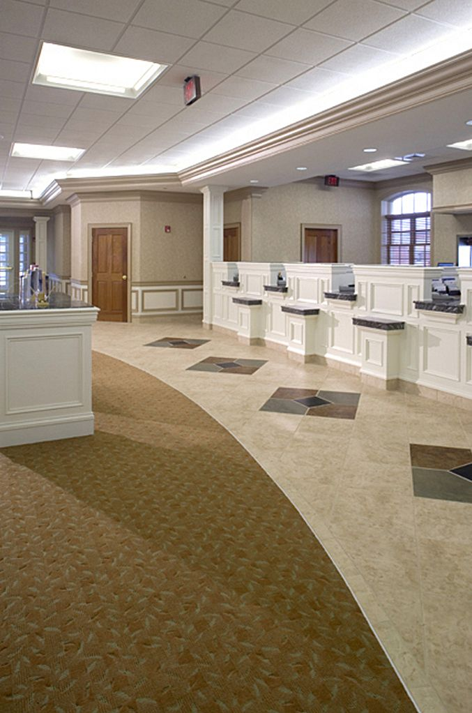 Bank Branch Interior Design | Scott Lutheran | Archinect