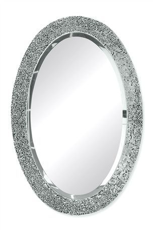 Buy Silver Oval Mirror From The Next UK Online Shop