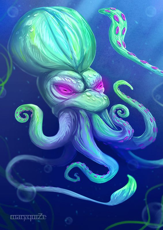 Giant Squid Fantastic Beasts Where To Find Them By Maryquize Giant Squid Fantastic Beasts Beast