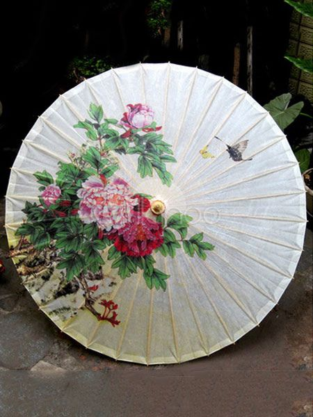 Chinese Style Lolita Umbrella Chinese Oiled Paper Umbrella Lolita Accessory