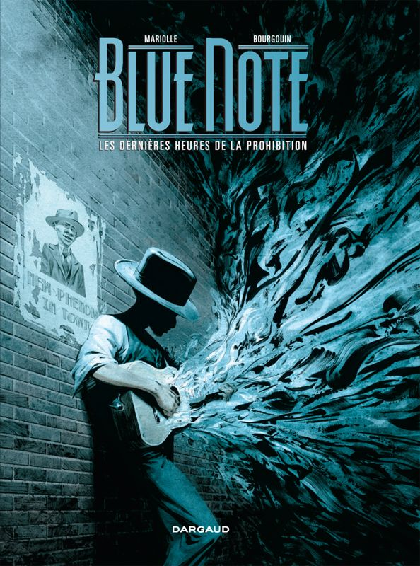 Blue Note tome 2 Scénario : Mathieu Mariolle, dessin :  Mikaël Bourgouin Sortie le 03 octobre 2014 #Dargaud #BD