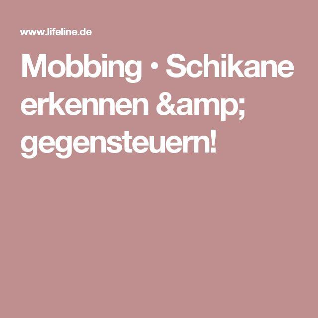 Mobbing U2022 Schikane Erkennen U0026 Gegensteuern!