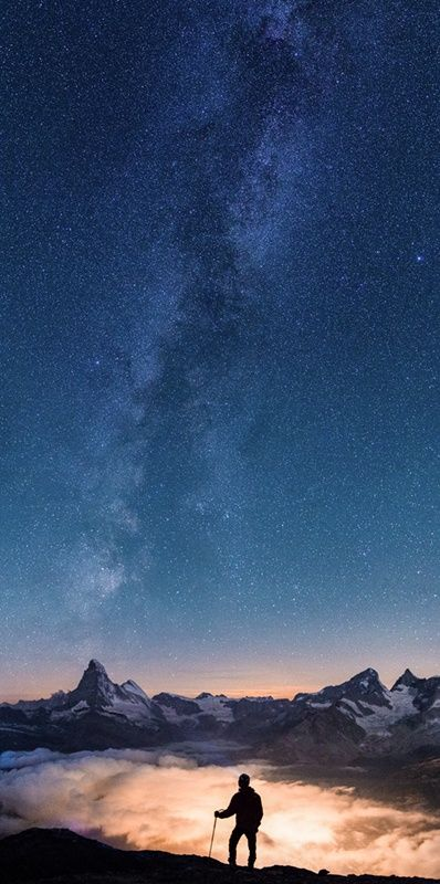 Above the Clouds and Under the Stars - ©Gilles Monney www.gillesmonney.com/solitude/