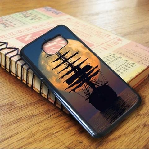 Pirate Ship At Horizon Samsung Galaxy S7 Case