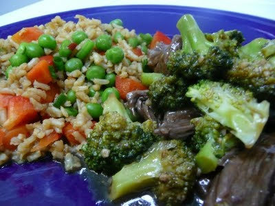 Publix Apron Meal - Beef and Broccoli  Easy to make and if you like the Asian style, it is very tasty.