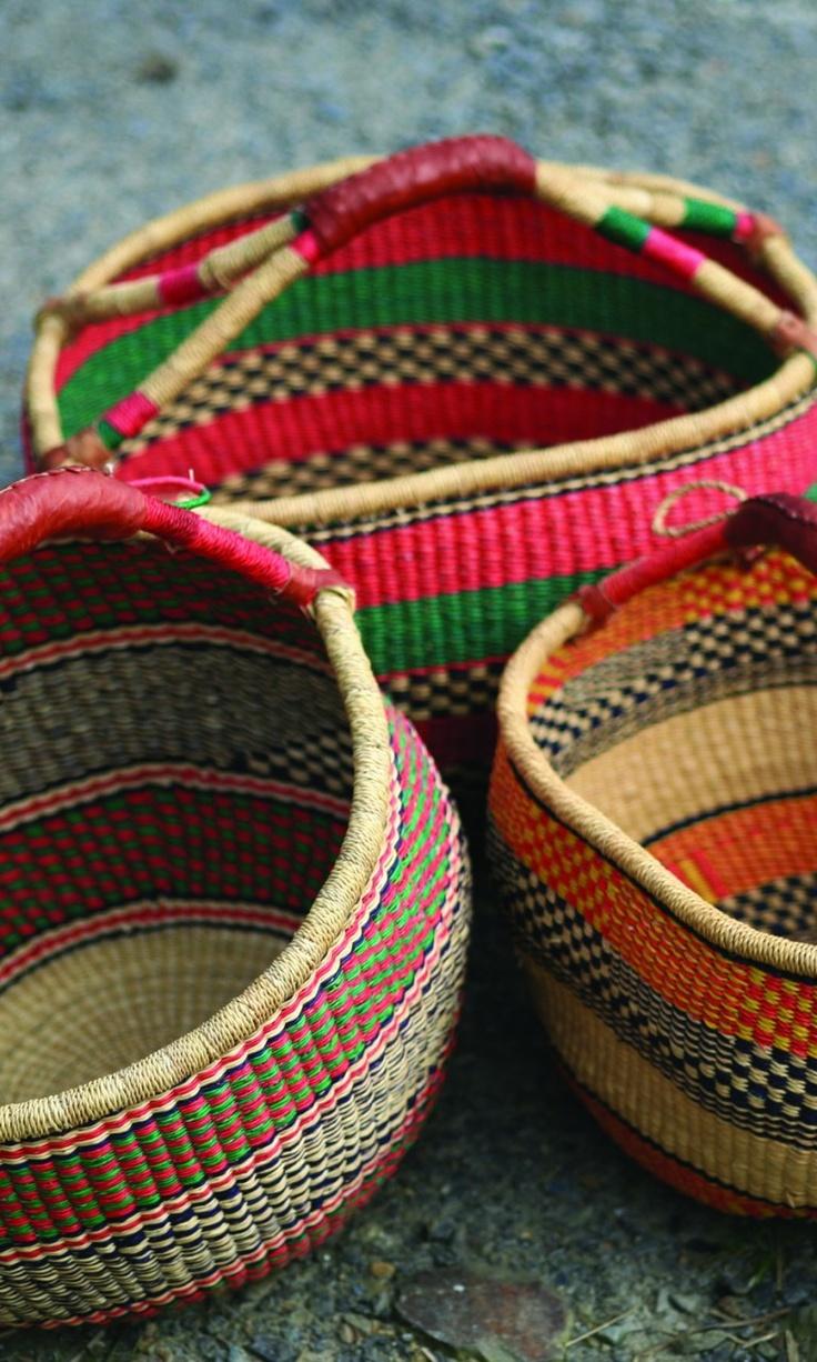 A Woven Dress Featuring An Allover: Wanties - Market Baskets, Basket En