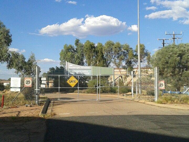 Alice Springs Railway Station in Alice Springs, NT
