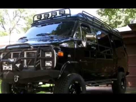 Lifted GMC 4x4 Camper Van - YouTube