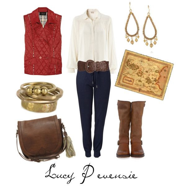 Lucy Pevensie, created by character-inspired-style on Polyvore