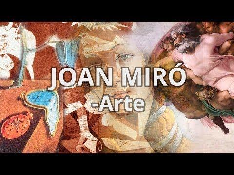▶ Joan Miró (Barcelona, 1893 - Palma de Mallorca, 1983) - Grandes Maestros del Arte - Educatina - YouTube